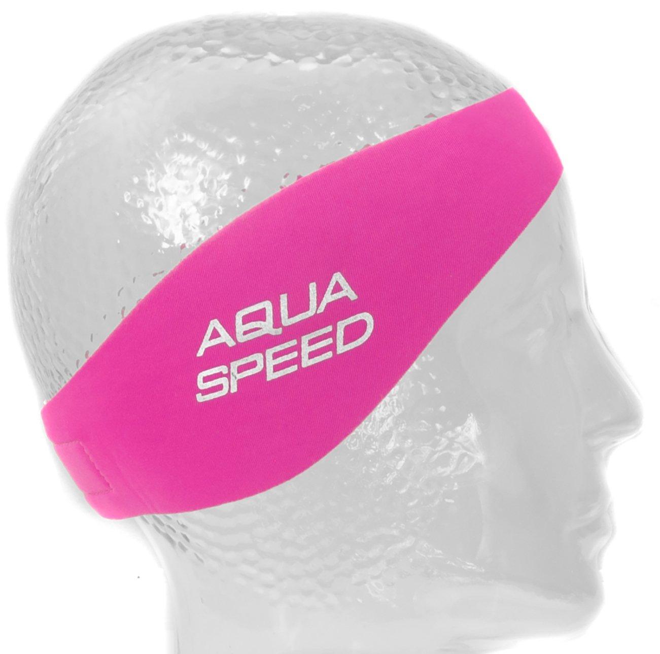 Ni/ños Aqua Speed EARBAND//EARBAND JR Banda para la Cabeza Cinta de los O/ídos Neopreno Nataci/ón Banda para el Cabello Adultos
