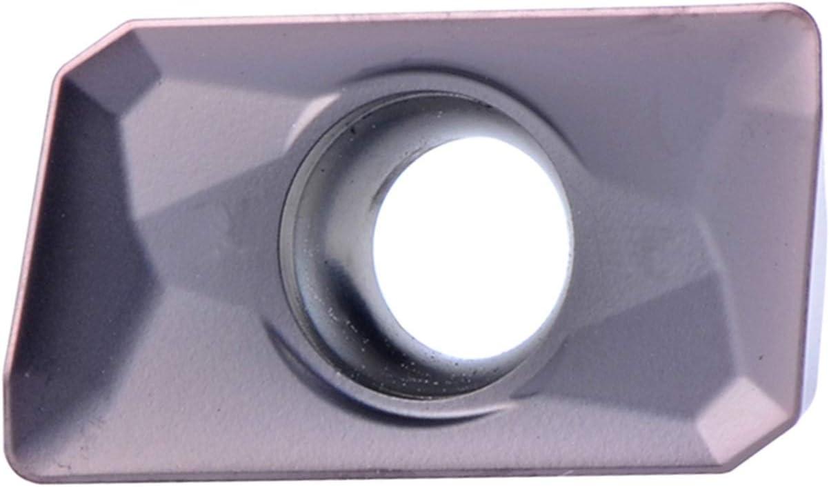 Lot de 10 Inserts de fraisage en carbure de tungst/ène APMT1135 PDR APMT 160408 CNC pour fraiseuse APMT1135PDR XBF-TOOL