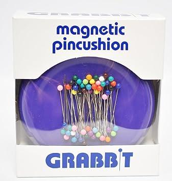 Grabbit Magnetic Pincushion Purple