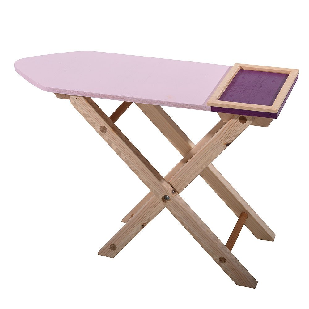Childrens Role Play Wooden Ironing Board Family Motoring & Leisure