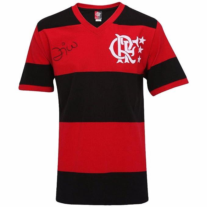 f4f9801d2c8 Men s Flamengo Replica Jersey 1981 Zico - Brazilian Soccer (2XL ...