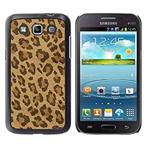 Paccase / SLIM PC / Aliminium Casa Carcasa Funda Case Cover - Spots Fur Africa Brown Beige - Samsung Galaxy Win I8550 I8552 Grand Quattro