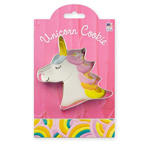 Amazon.com: Ann Clark - Cortador de galletas de unicornio (4 ...
