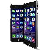 MTT® iPhone 6S / 6 Case Slim Fit Apple Logo Display Premium PC Case (DARK SILVER)