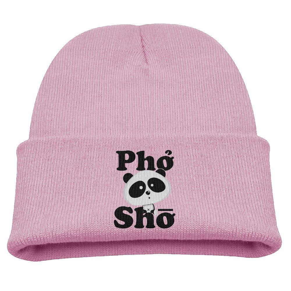 Banana King Pho Sho Panda Baby Beanie Hat Toddler Winter Warm Knit Woolen Cap for Boys//Girls