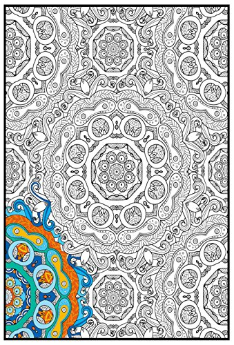 Joy of Coloring Mandala Poster