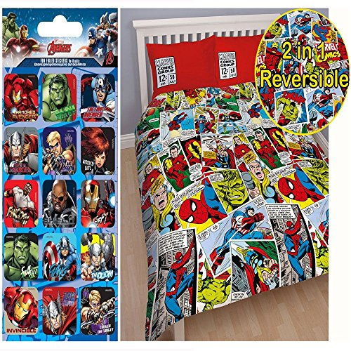 marvel duvet cover full - 2
