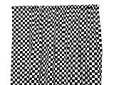 Zen Creative Designs Premium Cotton Checker Board Curtain Panel / Home Window Decor / Window Treatments / Checker Board / Race Flag / Chess Board / Decorative (58 Inch x 84 Inch, Black)