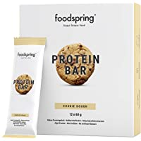 foodspring - Barritas proteicas - Sabor Cookie Dough