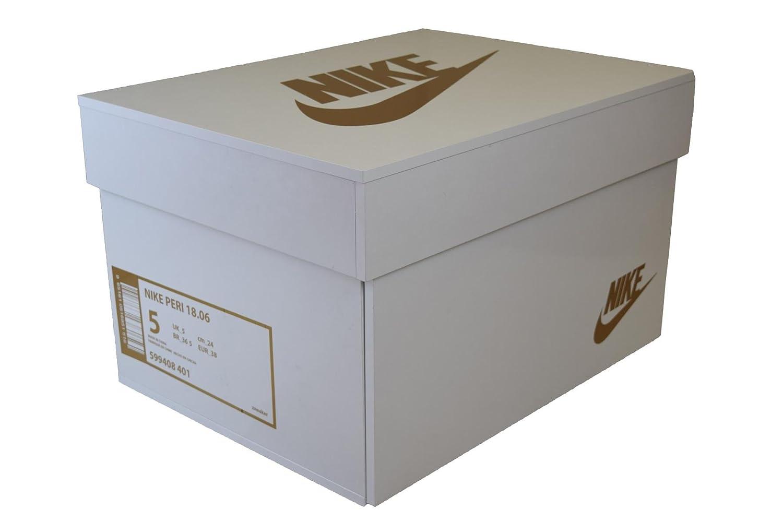 Schuhregal aus schuhkartons bauen  Amazon.de: Sneakerbox NIKE GOLD Schuhbox Nike Air Schuhschrank 10 ...