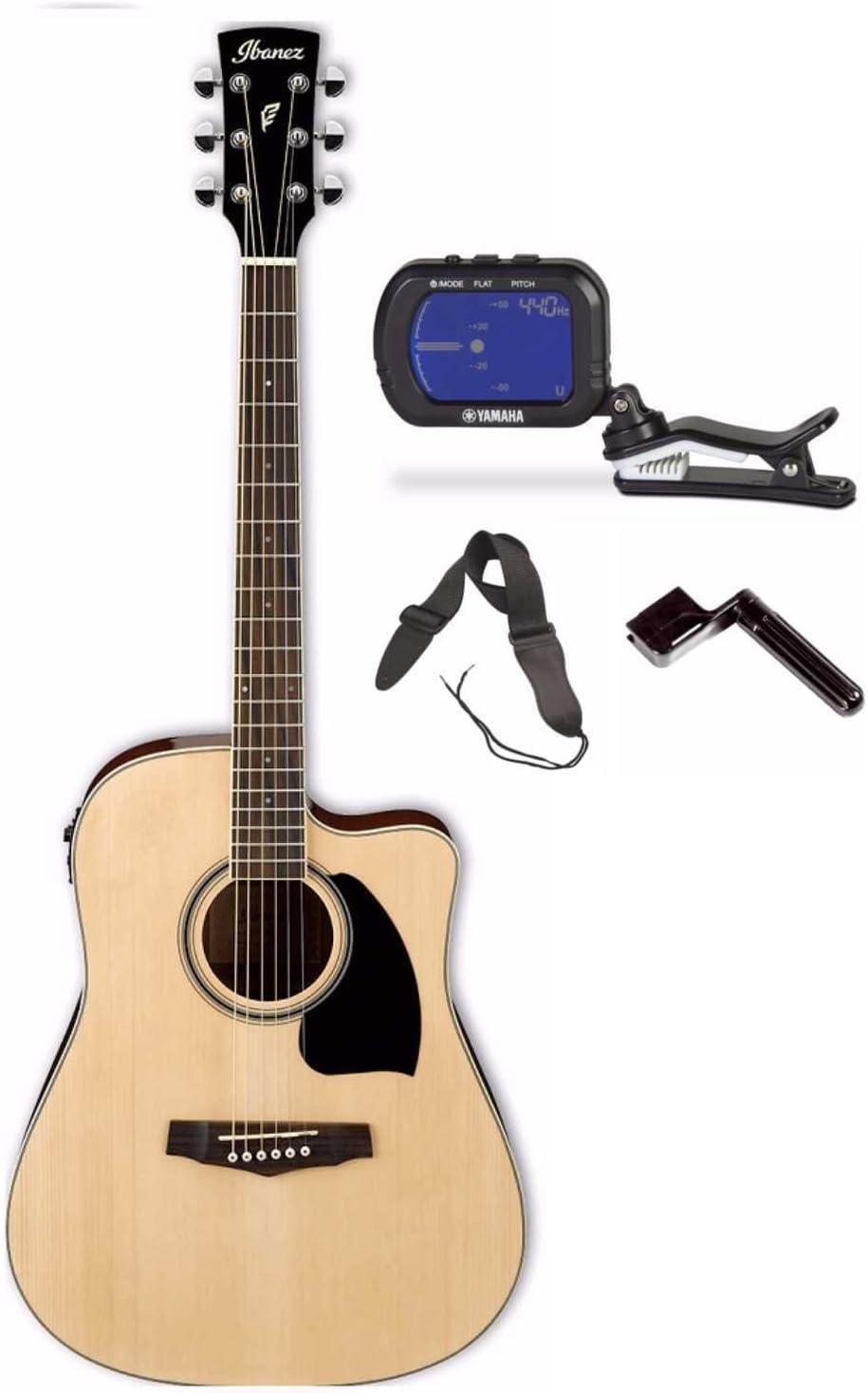 Ibanez PF15ECE Performance Dreadnought - Guitarra acústica ...