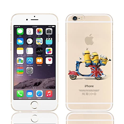 217 opinioni per Disney PRINCESS ; MINIONS ; WINNIE ;trasparente in poliuretano per iPhone-Cover