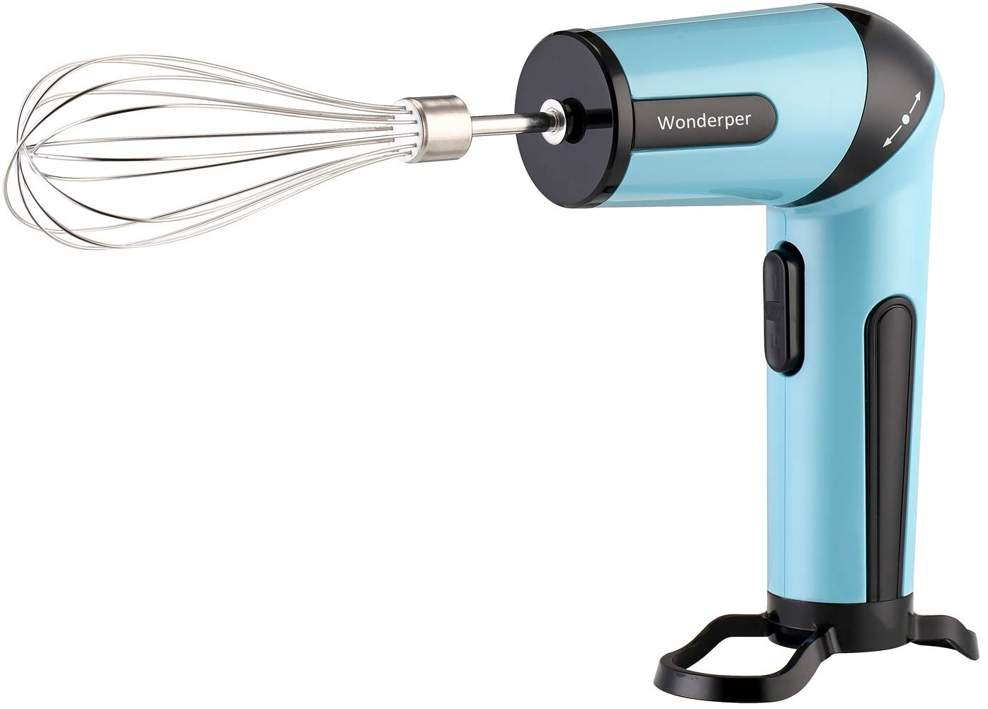 Wonderper Cordless Hand Mixer Battery Operated Mixer Battery Hand Mixer Battery Operated Hand Mixer Cordless Mixer Rechargeable - Blue by Wonderper
