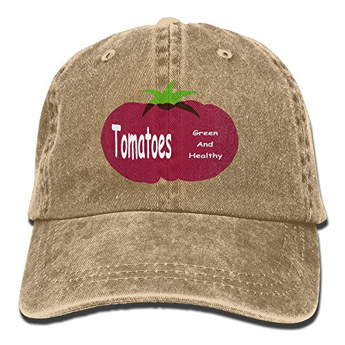 Large Tomato Adult Adjustable Printing Cowboy Hat
