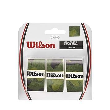 Wilson Camo - Raqueta de Tenis, Verde (Green Camo): Amazon.es: Deportes y aire libre