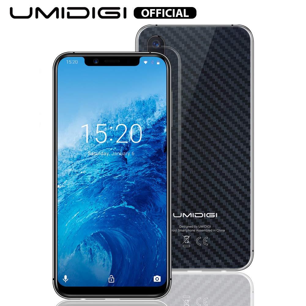 UMIDIGI One Smart Phone Unlocked Dual 4G Volte Mobile Phone with Side Fingerprint Scanner 5.9