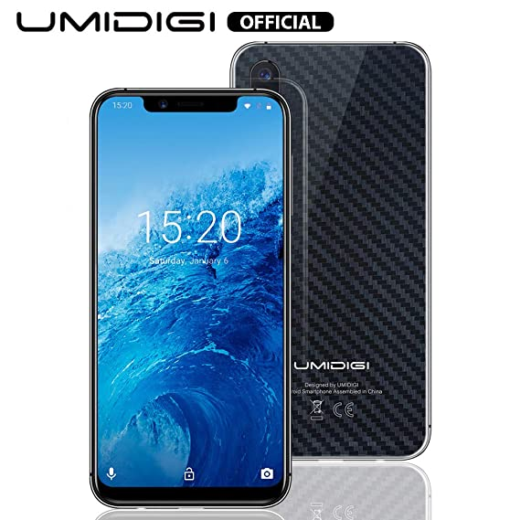 UMIDIGI One Smart Phone Unlocked Dual 4G Volte Mobile Phone with Side  Fingerprint Scanner 5 9