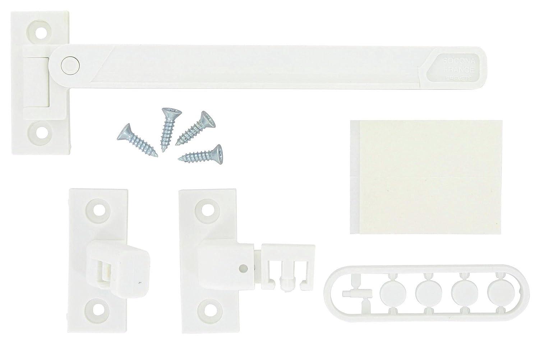 Gé né rique - Entrebailleur de fenetre polyamide 1 ou 2 vantaux - Finition.Blanc - Générique