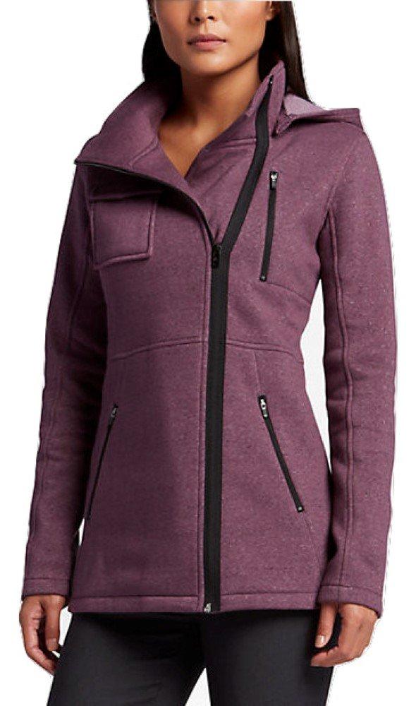 Hurley Women's Winchester Fleece Heather Purple Shade Outerwear XL (US 13)