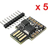 DAOKI 5 PCS Digispark Kickstarter ATTINY85 Micro USB Development Board For Arduino