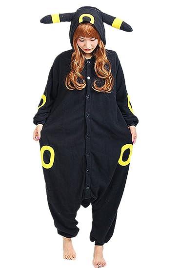 Umbreon Uniseadult Pajamas Cartoon Sleepwear ,Small,Umbreon