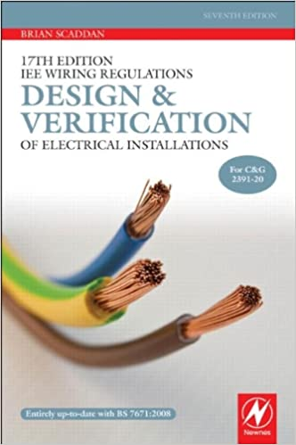 17th edition iee wiring regulations design and verification of 17th edition iee wiring regulations design and verification of electrical installations amazon brian scaddan 9780080969145 books keyboard keysfo Choice Image