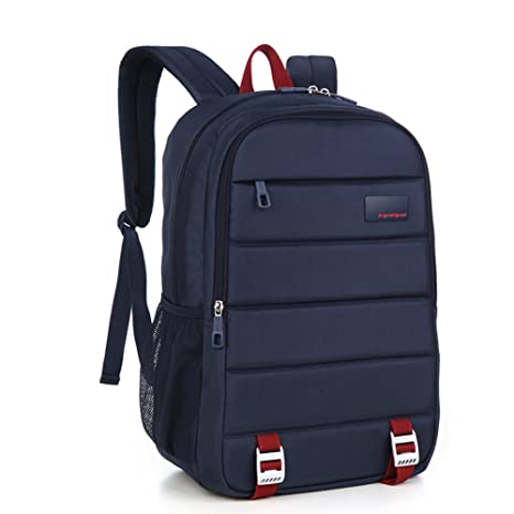 f7c5265d2c8f Amazon.com  M-CORNER Unisex nylon laptop backpack travel bag business (Blue)   Sports   Outdoors