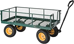 Grizzly Industrial H0771 - Folding Side Garden Wagon