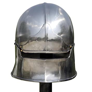 "Celada ""Mandíbula"", Celada Medieval, Recreación histórica, Cascos Medievales, Yelmo"