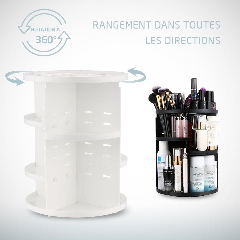idée rangement accessoires salle de bain pratique, décorative et pas cher