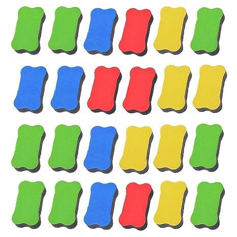 Gomas de borrar magnéticas para pizarra blanca, 24 unidades ...