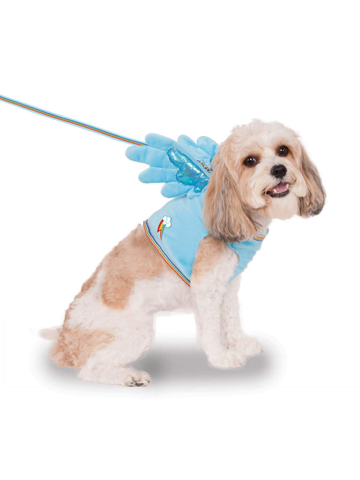 Rubie's My Little Pony Rainbow Dash Wing Harness Pet Costume, Small
