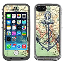 Skin Decal for LifeProof Apple iPhone 5C Case - Nautical Anchor