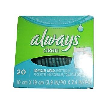 Amazon.com: LWAYS Feminine Wipes Lightly Scented 20 Count: Health ...