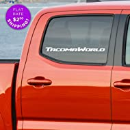 Toyota Tacoma World car decal - sticker for fans of Toyota Tacoma Trucks