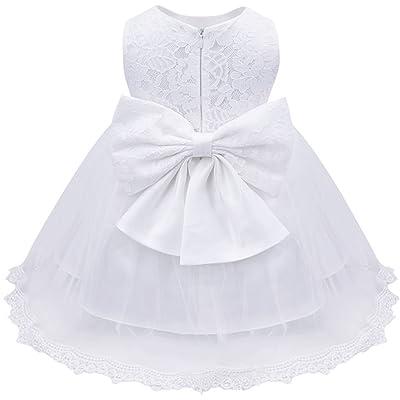 Gouache Infant Baptism Flower Girl Dresses Children Party Dress Birthday Dress