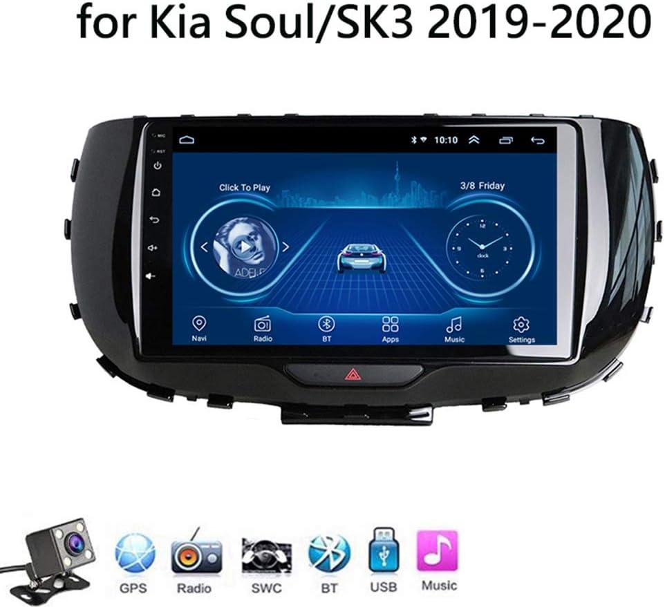 Android 8.1 Car Radio de Navegación GPS para Kia Soul/SK3 2019-2020 con 9 Pulgada Pantalla Táctil Support WLAN FM Am/MP5 Player/Bluetooth Steering Wheel Control