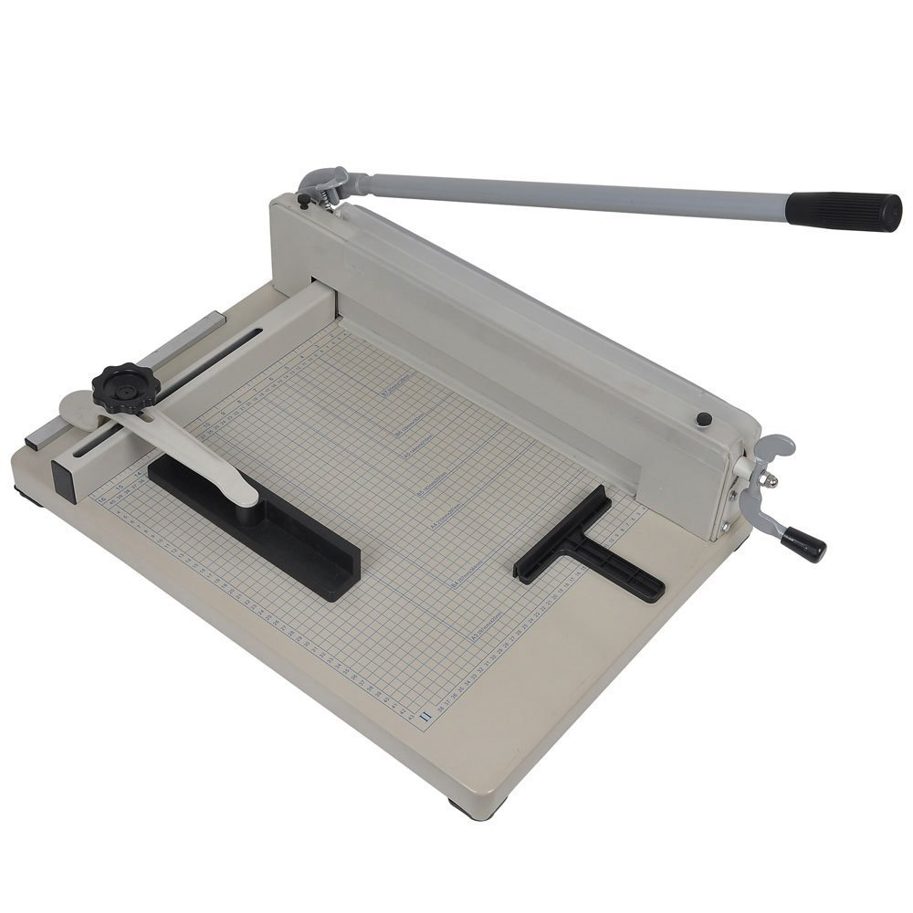 All Steel Heavy Duty Commercial 17'' Paper Cutter by 999 Mega USA