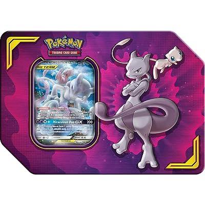 Pokemon TCG: Power Partnership Tag Team Tin, Mewtwo & Mew: Toys & Games