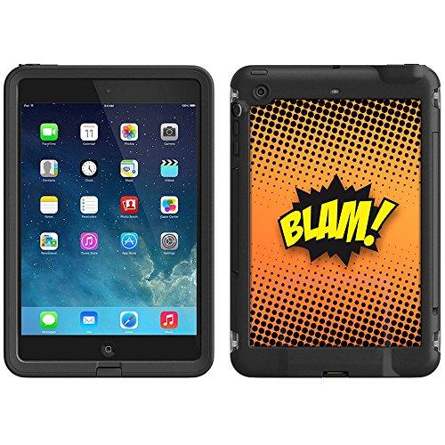 Skin Decal for LifeProof iPad Mini Case - BLAM! Comic Book on Black
