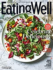 A delicious balance of cooking and must-have nutrition features, EatingWell is the award-winning magazine where good taste meets good health on every page. Each issue is filled with dozens of delicious and nutritious recipes, smart shopping t...