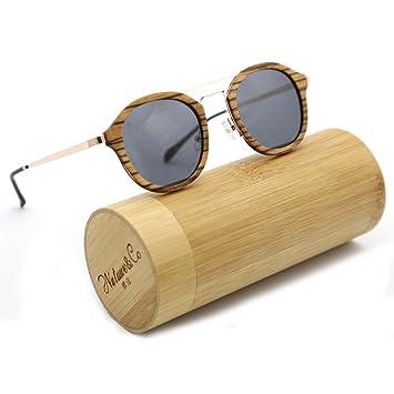 natwve & Co Fashion hecho a mano de bambú madera gafas de ...