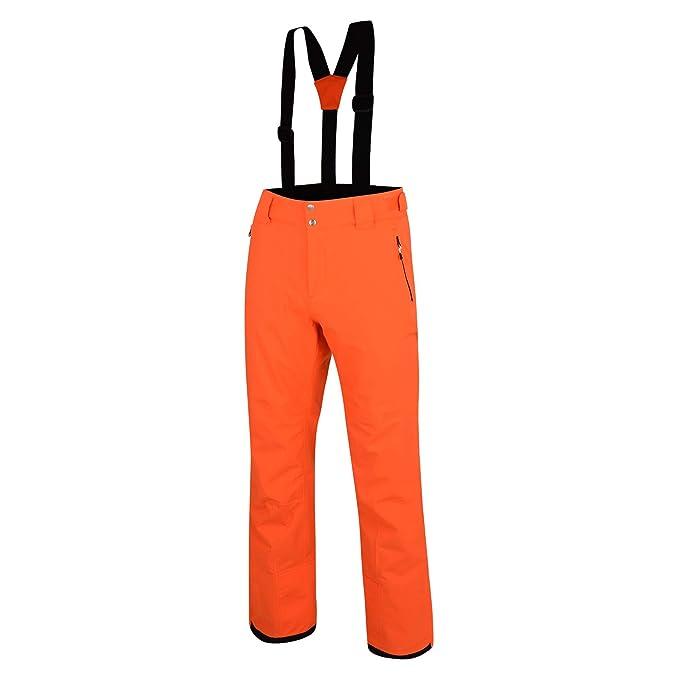 Pantalón de esquí neón waterproof para hombre