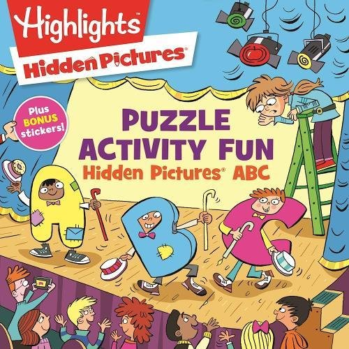 Hidden Pictures® ABC Puzzles (Highlights™ Puzzle Activity Fun)