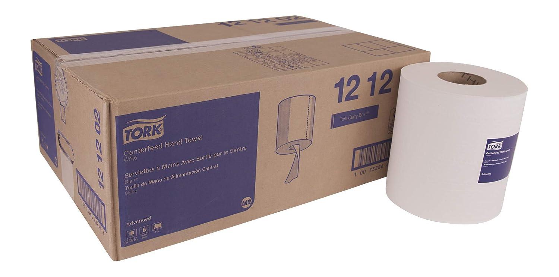 Tork Advanced 121202 suave centerfeed toalla de mano, 2 capas, 8,25