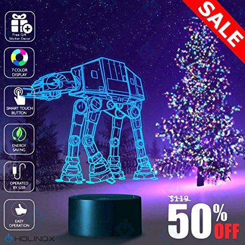Star Wars AT AT walker Lighting Decor Gadget Lamp Awesome Gift (MT025)
