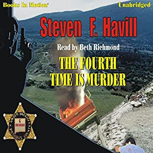 The Fourth Time Is Murder Audiobook