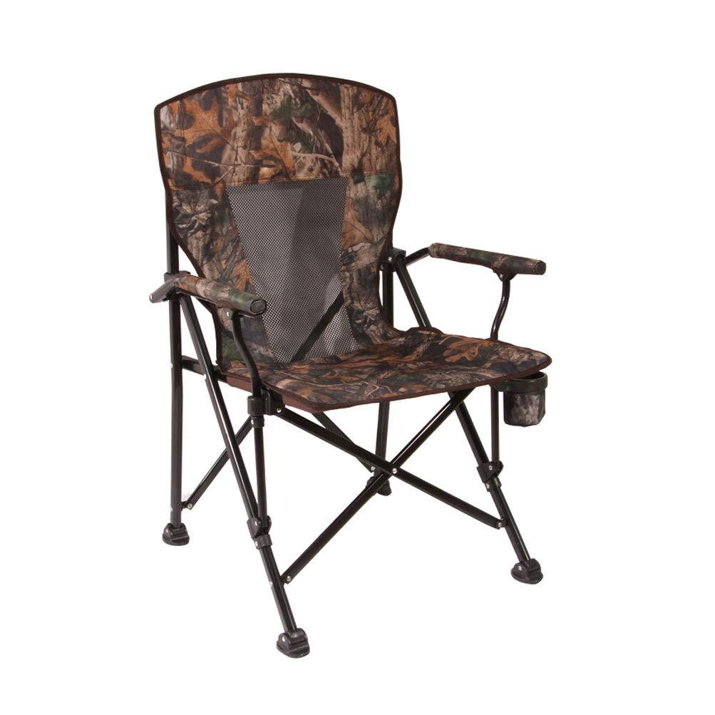 FH Outdoor Klappstuhl, selbstfahrender Strandcamping tragbarer Fischerstuhl Büro Mittagspause Stuhl 56 × 95 × 58 cm, Mehrfarbenauswahl