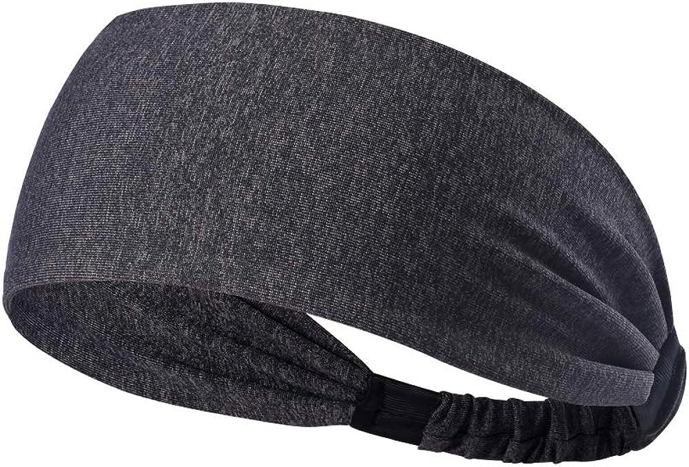 Zer one Yoga Haarband Sport Laufen Radfahren Schwei/ßband Schwei/ßableitung /& Sicheres Stirnband f/ür M/änner und Frauen Leichtes Stirnband