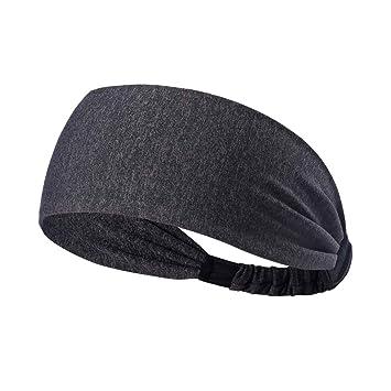 attraktiver Stil kostenloser Versand viele möglichkeiten HANERDUN Sport Stirnband Damen Schweißbänder Kopf Stirn Baumwolle Haarband  Kopfband für Laufen Fahrrad Joggen Tennis Yoga Fitniss